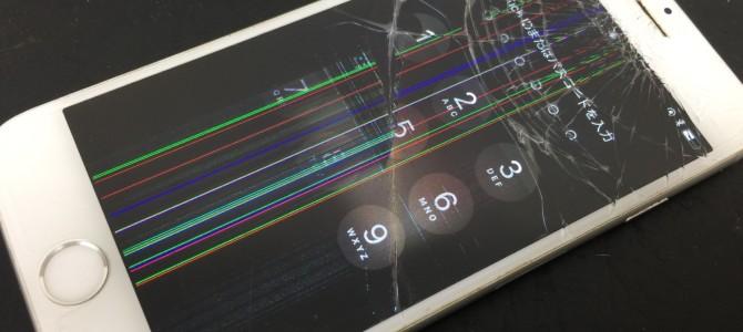 ◆大阪府よりiPhone6s ガラス割れ、液晶不良 -2017 10/20-